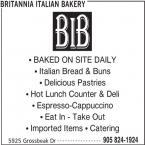 Britannia Italian Bakery